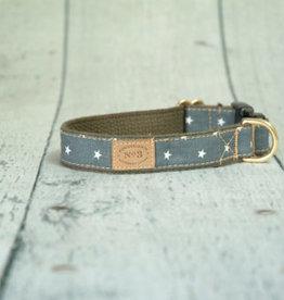 Finnegan's Standard Goods Stars Dog Collar
