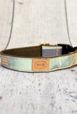 Finnegan's Standard Goods Olive Reflective Dog Collar