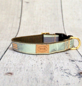 Finnegan's Standard Goods Olive Reflective Dog Collar