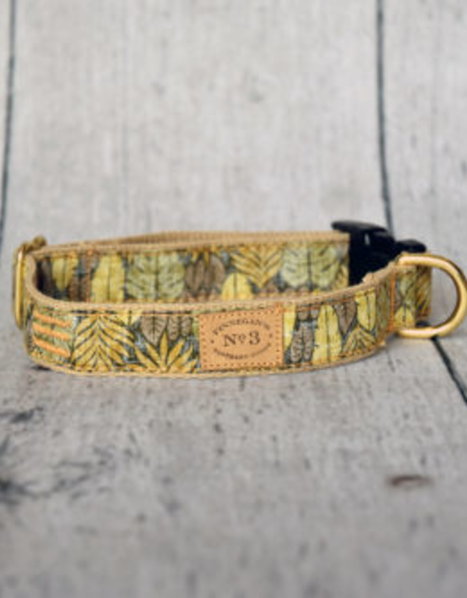 Finnegan's Standard Goods Island Leaves Dog Collar