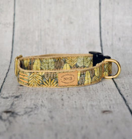 Finnegan's Standard Goods Island Leaves Dog Collar