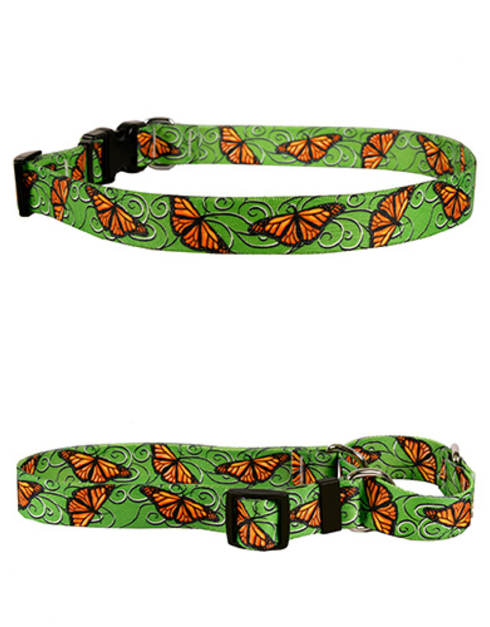 Yellow Dog Design Monarch Swirl Dog Collar