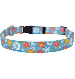 Yellow Dog Design By the Sea Dog Collar