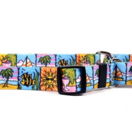 Yellow Dog Design Seaside Dog Collar