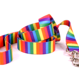Yellow Dog Design Rainbow Stripe Dog Lead