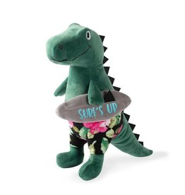 Fringe Studio Surfer Bro Rex Plush Dog Toy