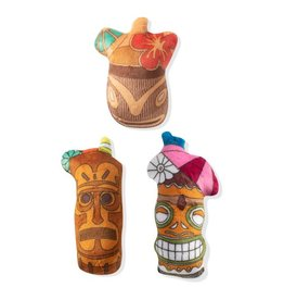Fringe Studio Tiki Drinks Small Dog Toys, 3 pack