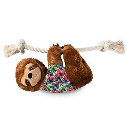 Fringe Studio Hangin' Around for Summer Sloth Large Plush Dog Toy