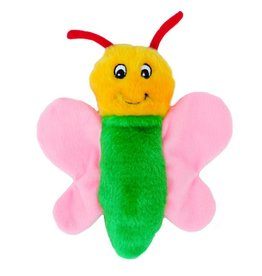 Zippy Paws Butterfly Crinkle Dog Toy