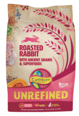 Earthborn Unrefined Roasted Rabbit with Ancient Grains & Superfoods Dry Dog Food