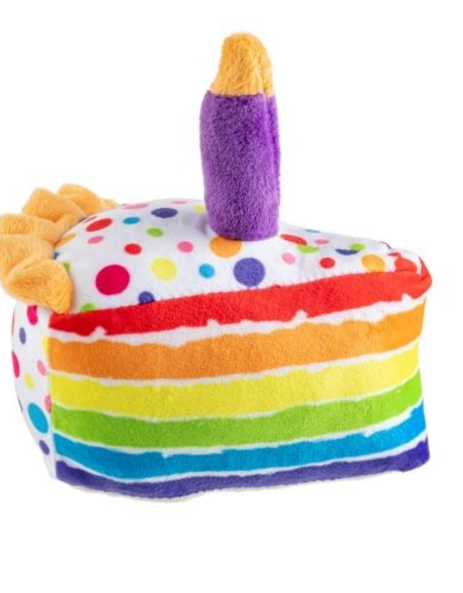 Haute Diggity Dog Birthday Slice Dog Toy