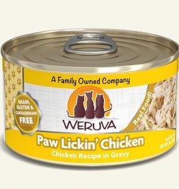 Weruva Paw Lickin' Chicken in Gravy Grain-Free Canned Cat Food, 5.5 oz