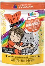 Weruva BFF OMG Chicken & Salmon Shine Bright Cat Food Pouch, 2.8 oz