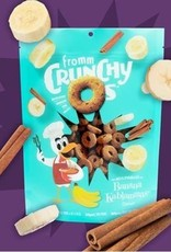 Fromm Grain Free Crunchy O's Banana Kablammas Dog Treats, 6 oz