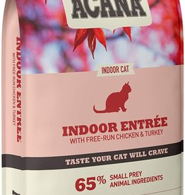 Acana Indoor Entree Dry Cat Food, 4 lb.