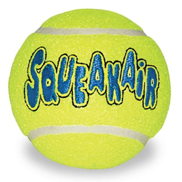Kong Air Squeak Tennis Ball Dog Toy