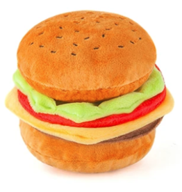 P.L.A.Y. Barky Burger American Classic Dog Toy