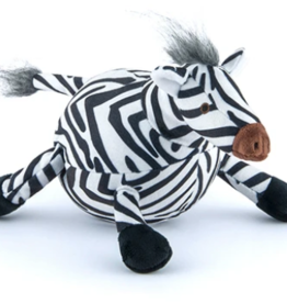 P.L.A.Y. Zara the Zebra Plush Safari Rope Dog Toy