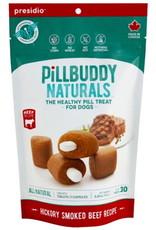 Presidio Pill Buddy Natural Beef Recipe Dog Treats, 30 count