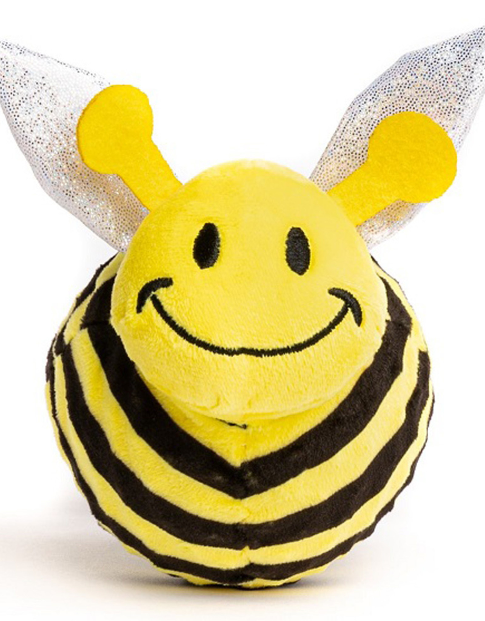 Fabdog Bumble Bee faball Squeaky Dog Toy