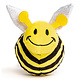 Fabdog Bumble Bee Ball Squeaky Dog Toy