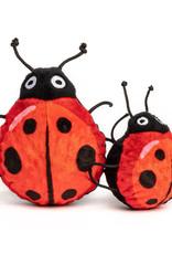Fabdog Ladybug faball Squeaky Dog Toy
