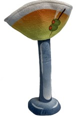 Fabdog Bendie Martini Dog Toy