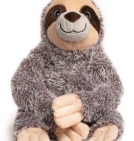 Fabdog Fluffy Sloth Dog Toy