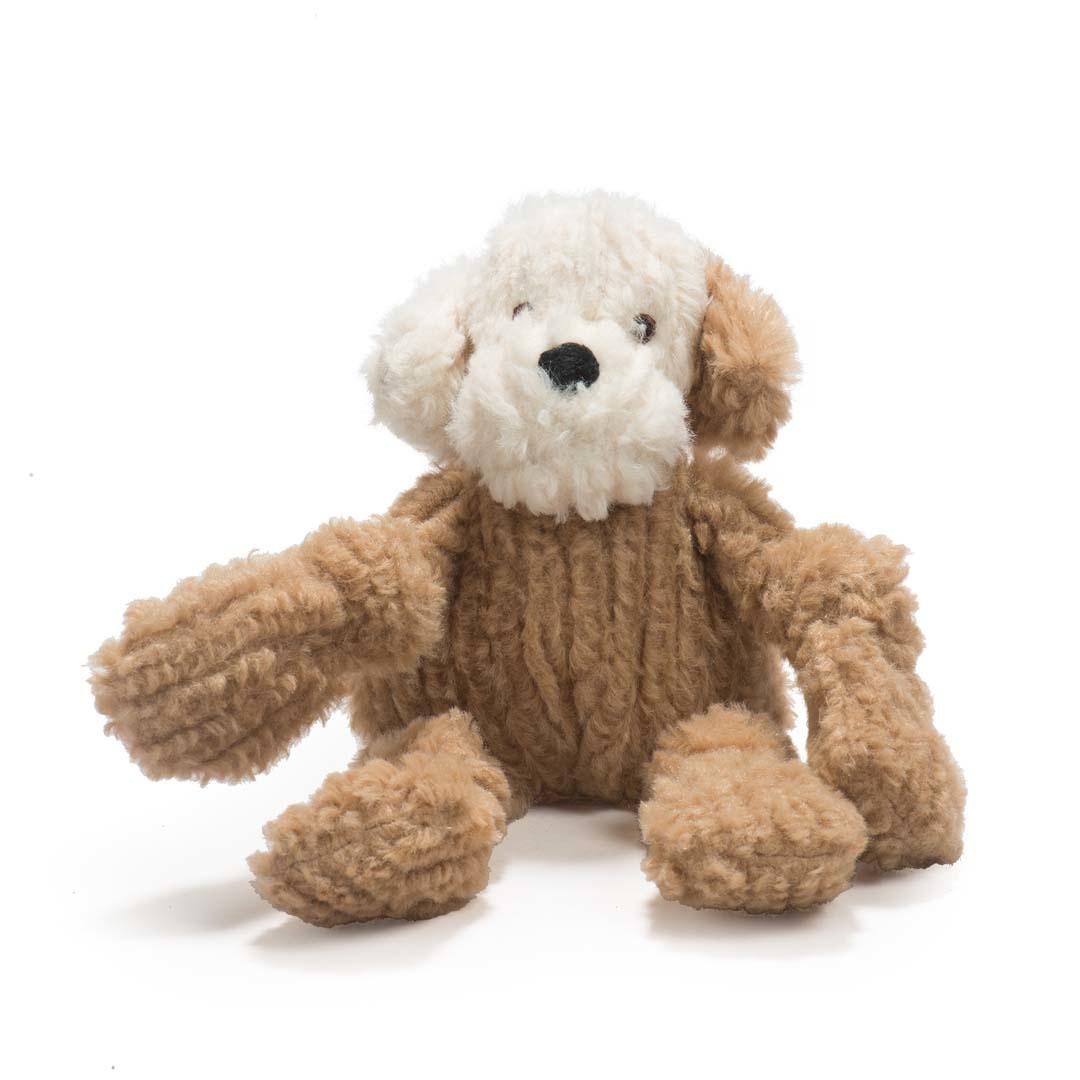 HuggleHounds HuggleMutt Lulu Knottie Dog Toy
