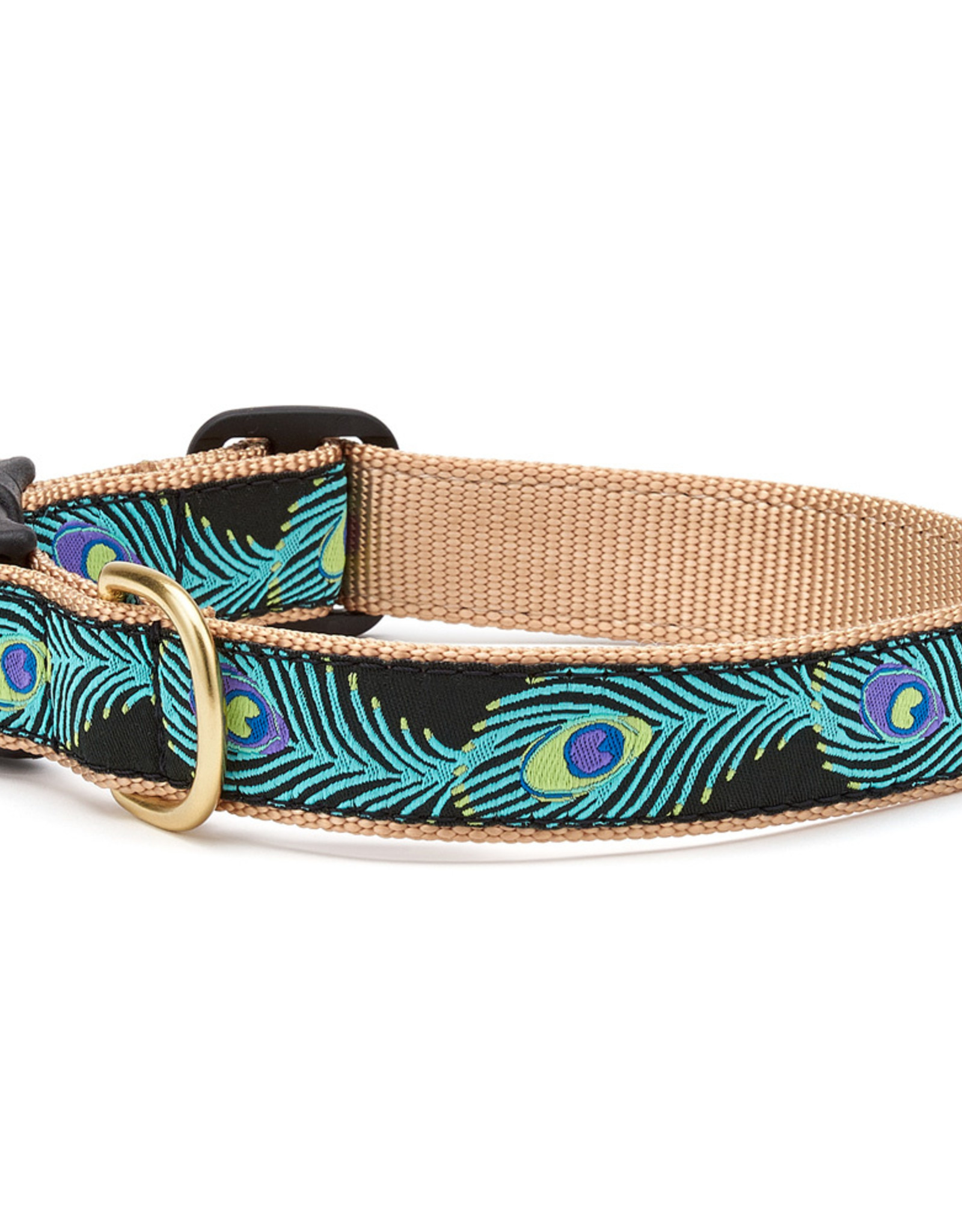 Up Country Peacock Dog Collar