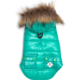 The Worthy Dog Aqua Telluride Puffer Dog Coat