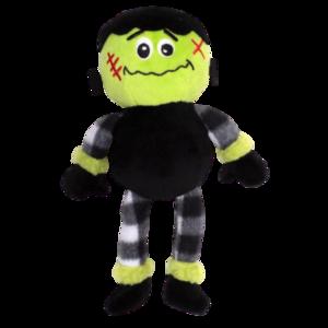 The Worthy Dog Buffalo Frankenstein Plush Dog Toy