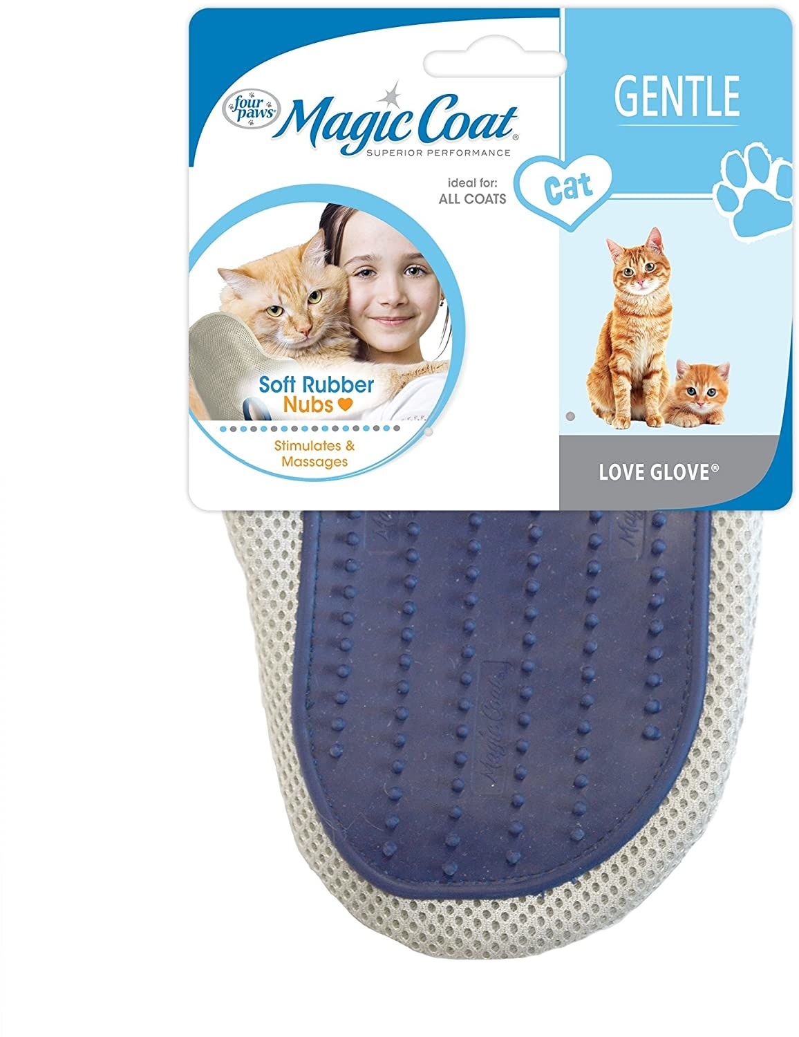 Four Paws Love Glove Grooming Mit
