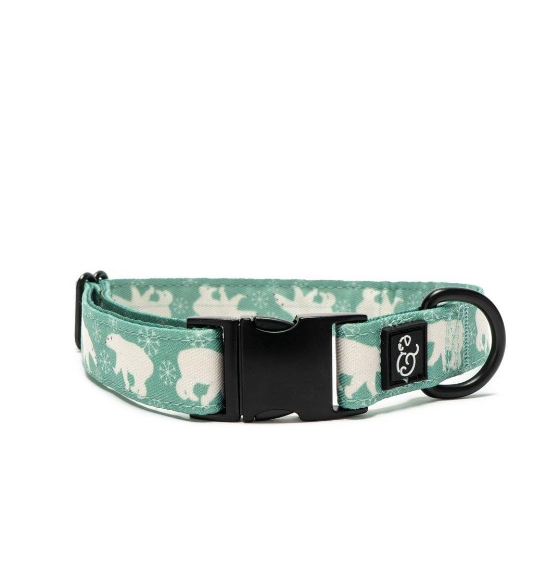 Lucy & Co. The Polar Bear Parade Dog  Collar