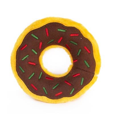 Zippy Paws Gingerbread Donutz Dog Toy