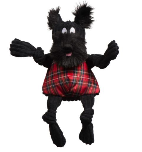 HuggleHounds Christmas Scottie Knottie