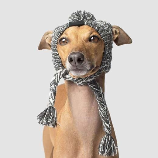 Canada Pooch Pom Pom Dog Hat