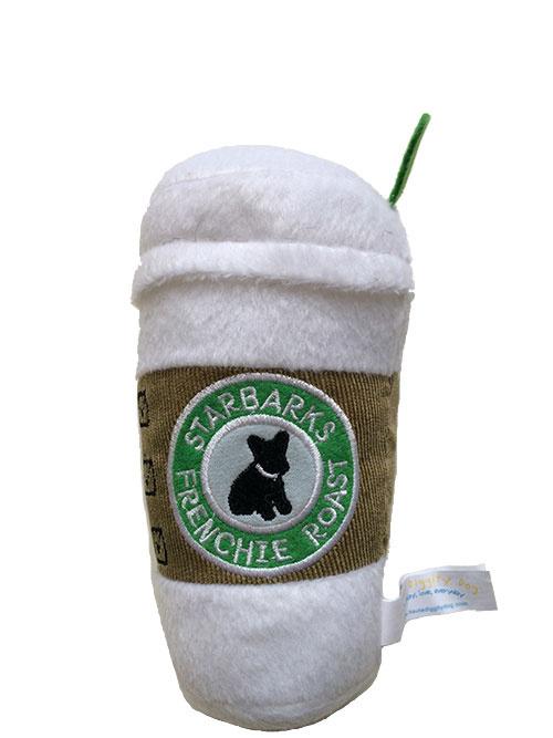 Haute Diggity Dog Starbarks Coffee Plush Dog Toy