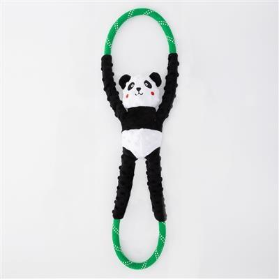 Zippy Paws Panda RopeTugz Dog Toy