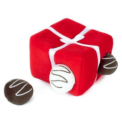 Zippy Paws Box of Chocolates Burrow Interactive Dog Toy