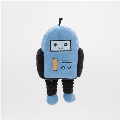 Zippy Paws Rosco the Robot Plush Dog Toy