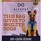 Give Pet Off-Leash Leisure, Applesauce, Bacon, & Cinnamon, Soft & Chewy, Grain-Free Dog Treats, 6 oz