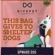 Give Pet Upward Dog, Banana, Peanut Butter, & Chia Seed, Soft & Chewy, Grain-Free Dog Treats, 6 oz