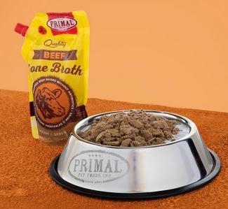 Primal Dog & Cat Beef Bone Broth, 20 oz