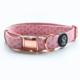 Ripley & Rue Pink Zodiac Comfort Dog Collar