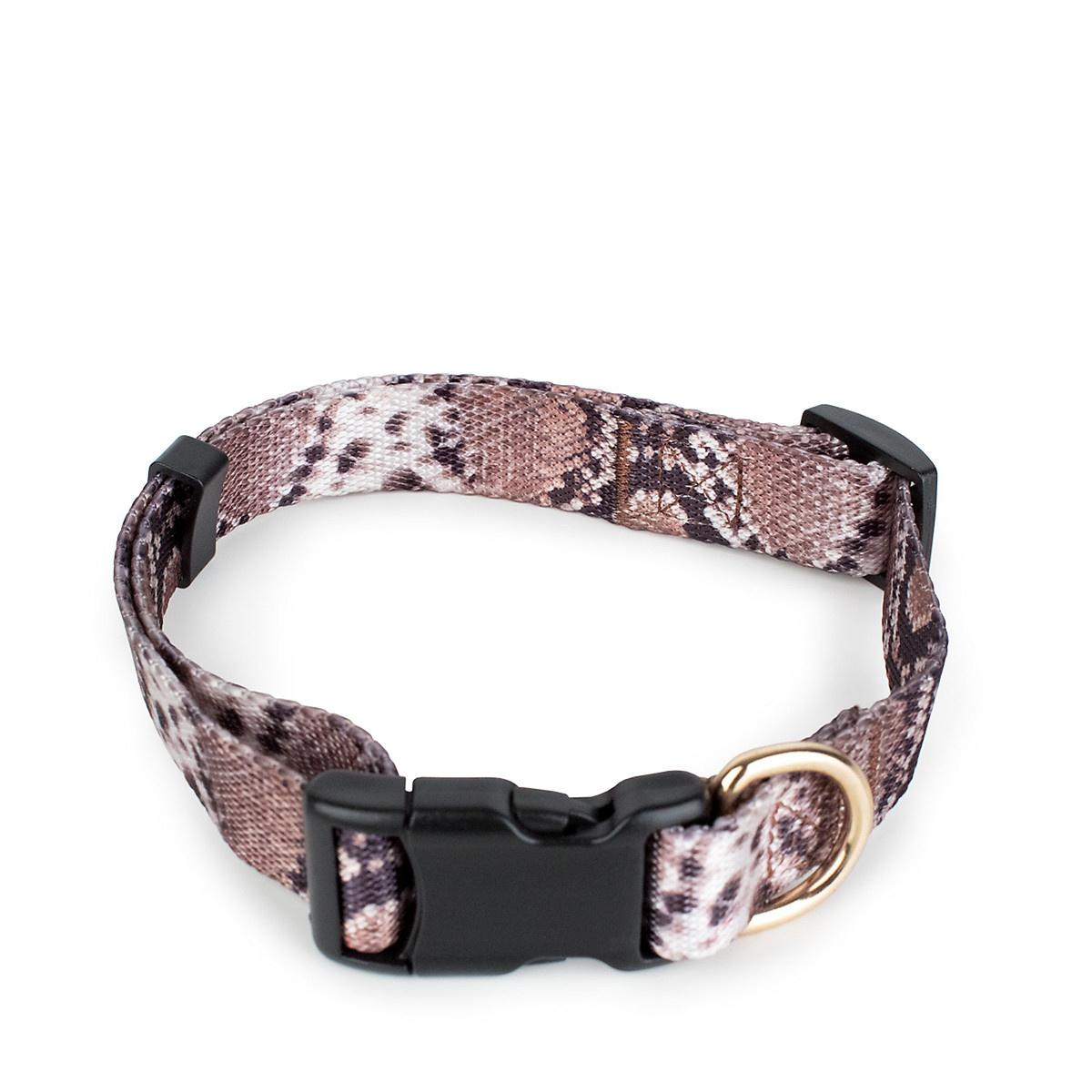 Boulevard Snake Dog Collar