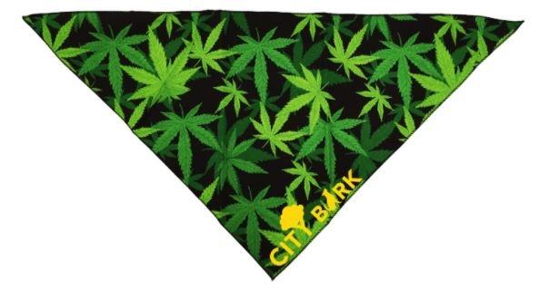 City Bark Leaf Dog Bandana