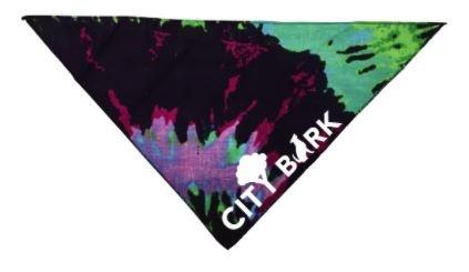 City Bark Tie-Dye Dog Bandana