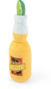 P.L.A.Y. Tropical Paradise Canine Cerveza Plush Dog Toy
