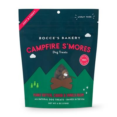 Bocce's Bakery Campfire S'mores Soft & Chewy Treats , 6 oz.